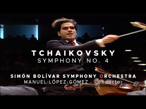 Tchaikovsky - Symphony No. 4 / Manuel López-Gómez - Simón Bolívar Symphony