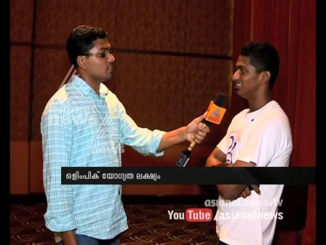 National games star Sajan Prakash dreams about olympics