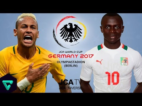 Brazil vs. Senegal | Group G | 2017 JCA World Cup Germany | PES 2017