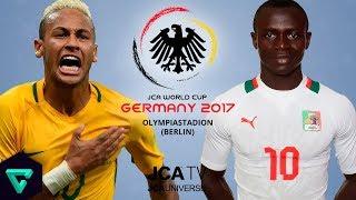 Brazil vs. Senegal   Group G   2017 JCA World Cup Germany   PES 2017