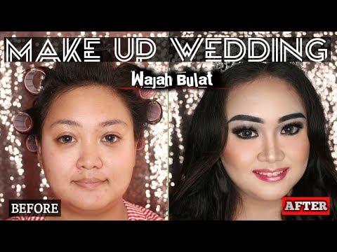 make-up-untuk-wanita-gemuk/gendut/wajah-bulat