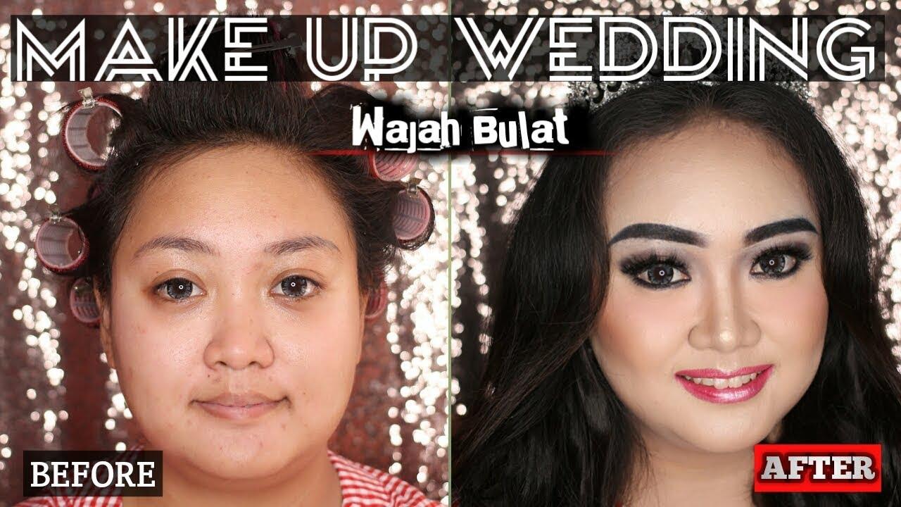 Make Up Untuk Wanita Gemuk Gendut Wajah Bulat Youtube