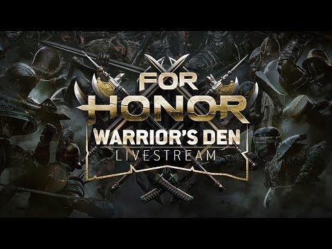 Warrior's Den Weekly Livestream - May 17th 2018