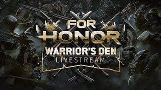 Warrior's Den Weekly Livestream - May 17th 2018