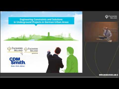 Engineering Constraints and Solutions in Underground Projects in German Urban Areas