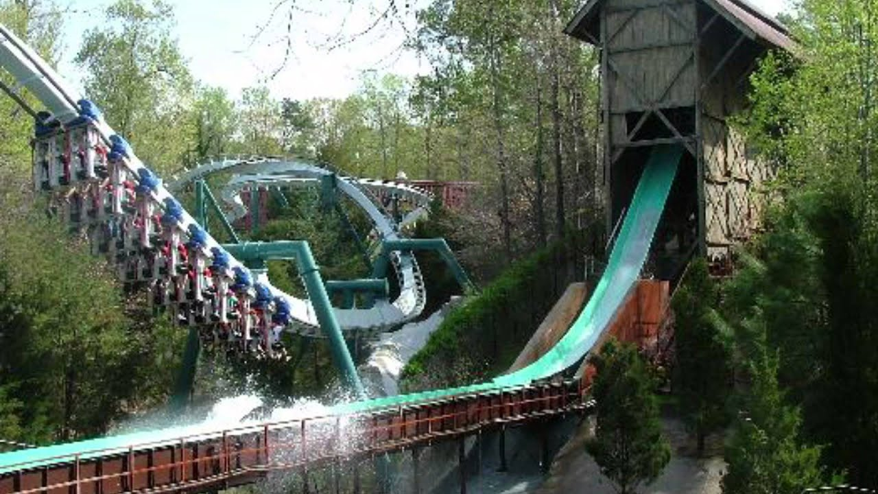 Busch Gardens Williamsburg 2017 Roller Coaster