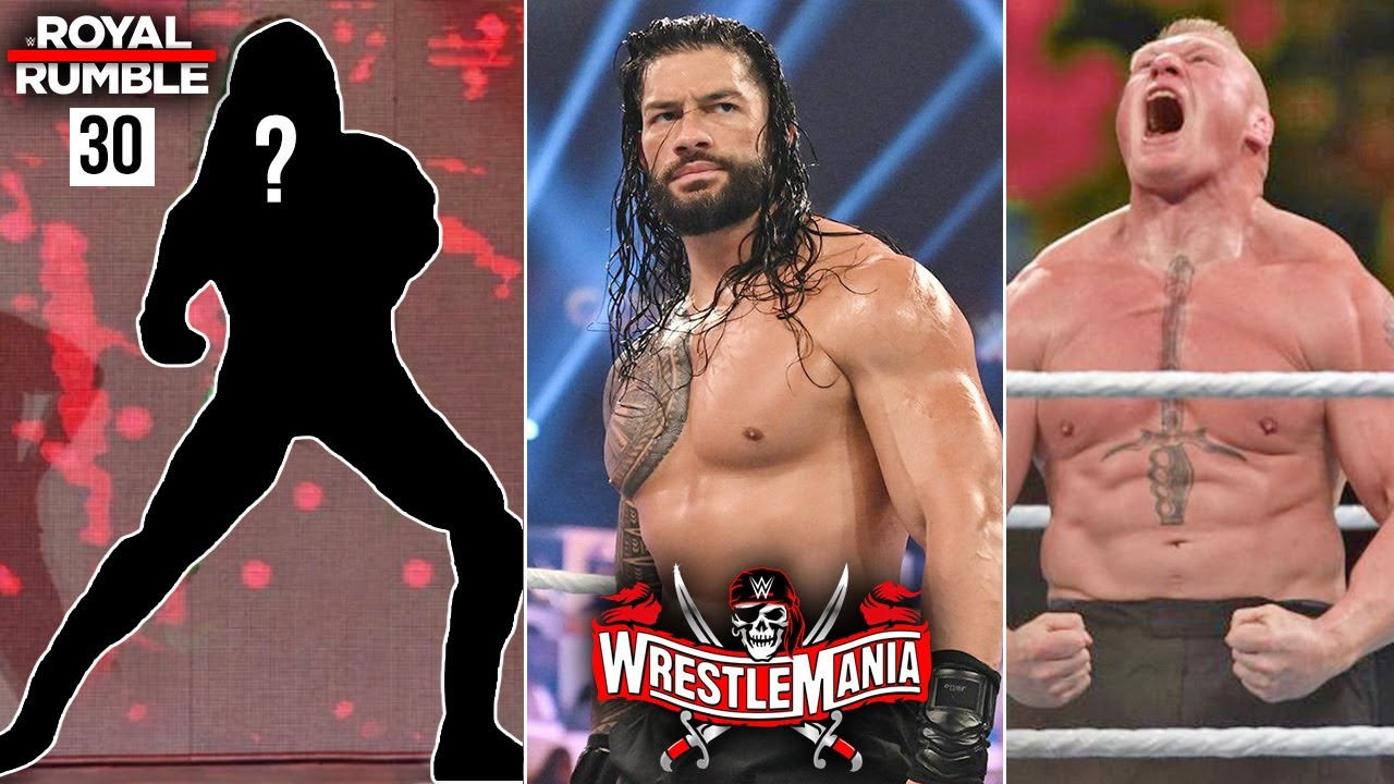 Royal Rumble #30 Entrant... Lesnar Vs Roman Vs Drew Match, The Fiend Return 3 Times in Rumble,