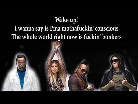 The Black Eyed Peas  - RING THE ALARM pt 1, pt 2, pt 3 (Lyrics)