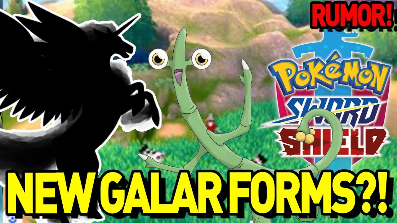 Stickbug And Pegasus Rapidash Galarian Form Rumor Pokemon Sword And Shield New Rumor Discussion Youtube