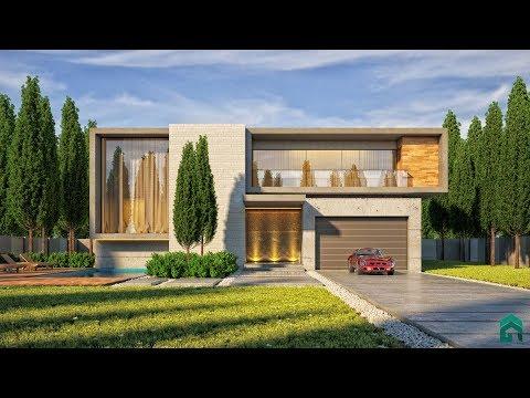 Vray Next Sketchup The Making Of Modern Villa #3