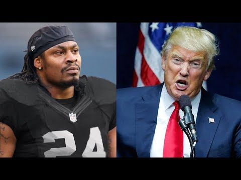Donald Trump DEMANDS for Marshawn Lynch to Be SUSPENDED for Sitting During Anthem