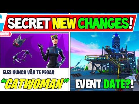*NEW* Fortnite Update: Catwoman Skin on Brazil News! + FREE Rewards! (Fortnite X Batman Event)