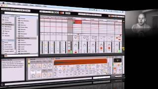 Ableton Live 9 - Detroit Techno Inspired Idea