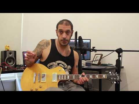 How to play 'Deathmask Divine' by The Black Dahlia Murder Guitar Solo Lesson w/tabs
