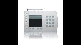 Comment configurer le message d'intrusion sur une Alarme 6 zones