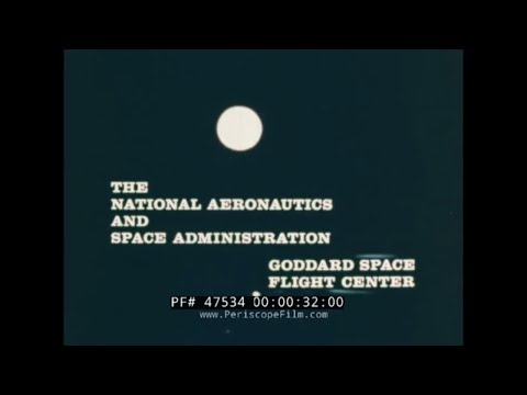 NASA GODDARD FLIGHT CENTER GROUND CONTROL, SATELLITE COMMUNICATIONS FILM 47534