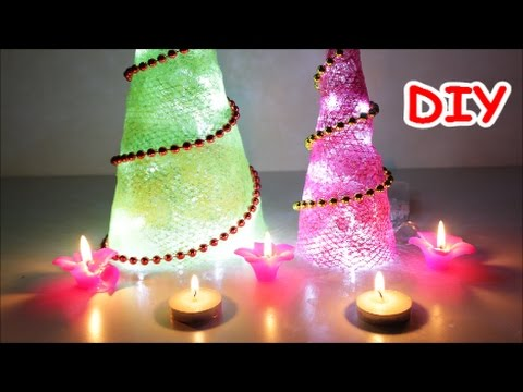 Best out of waste diwali christmas home decorations ideas for Decoration ideas from waste