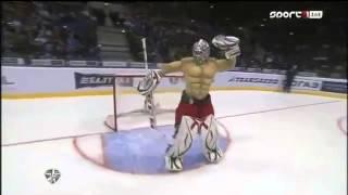 Konstantin Barulin vs Miroslav Satan - All Star Game KHL