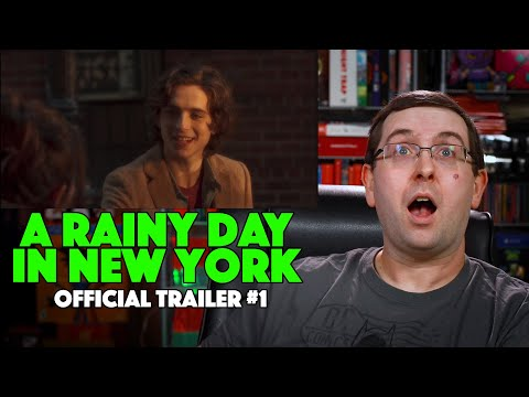 REACTION! A Rainy Day in New York Trailer #1 – Timothée Chalamet Movie 2020