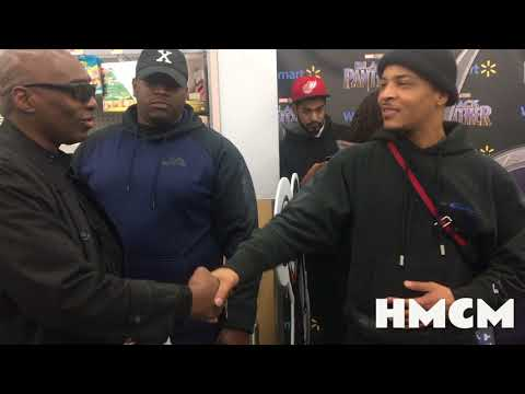 """T.I. Gave Fans Free, Advance Screening Tickets To See """"Black Panther"""""""