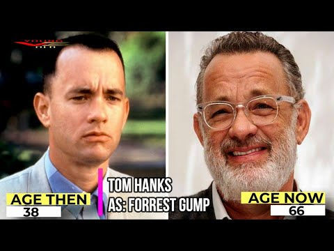⭐ Forrest Gump Stars ⭐ Then and Now Real names and Ages