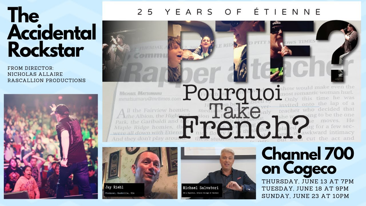 Download The Accidental Rockstar (Pourquoi Take French? - 25 Years of Étienne - Documentary)
