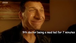 9th doctor being a mad lad for 7 minutes!