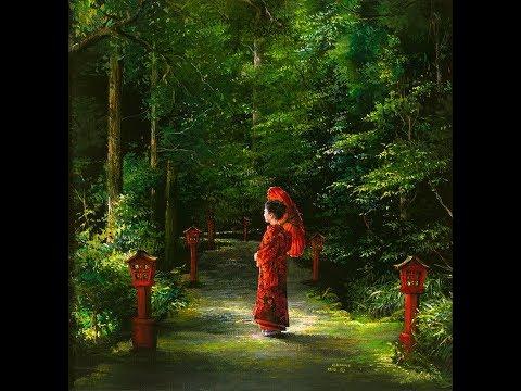 ''Red Kimono'' by Akiane (Afternoon Art Series)