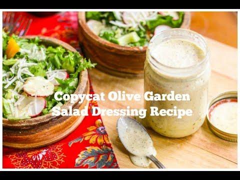 Copycat Olive Garden Dressing Recipe