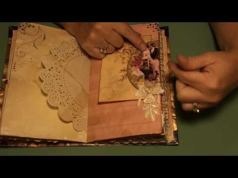 Romantic Vintage Envelope Style Journal (Sold)