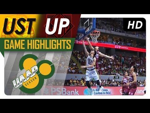 UST vs. UP | Game Highlights | UAAP 80 Men's Basketball | Sept. 10, 2017