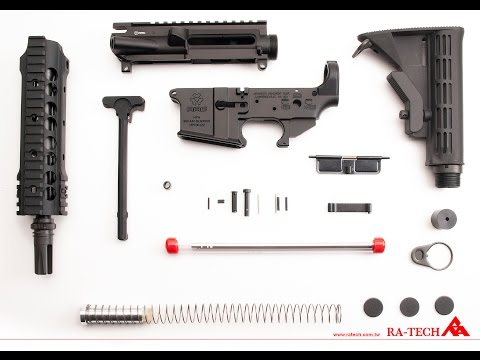 RA-TECH Challenge DIY Pack for GHK M4