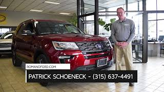 2018 Ford Explorer Syracuse NY   Ford Explorer Dealer East Syracuse NY
