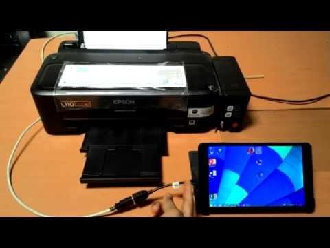 Axioo Windroid Printing