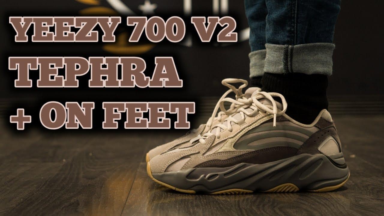 YEEZY BOOST 700 V2 TEPHRA + ON FEET