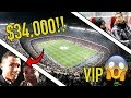 THE $34,000 VIP FOOTBALL SEAT TICKET!! **EXCLUSIVE**
