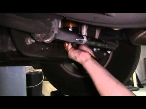 Oil Change 2007 Chevy Silverado 1500 - YouTube