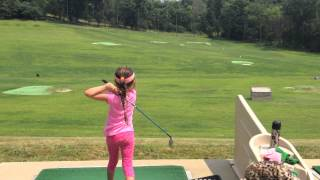 Tiger Lily - 6 year old girl golfer, child prodigy