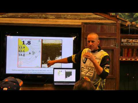 Bass Pro Kary Ray unlocks the secrets of fishing electronics Bass fishing seminar