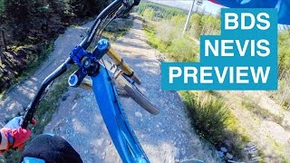 Cathro Course Preview // BDS Nevis Range // World Cup Track Stabilised Talky Cam