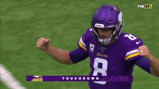 Stefon Diggs Gets his Third TD with a crazy Toe-Tapper. (Week 6)