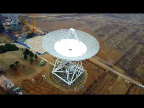 Chinese Huge Radio telescope Aerial,By DJI Mavic Pro