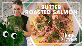 Quick and Easy Buтter Roasted Salmon | Home Movies with Alison Roman