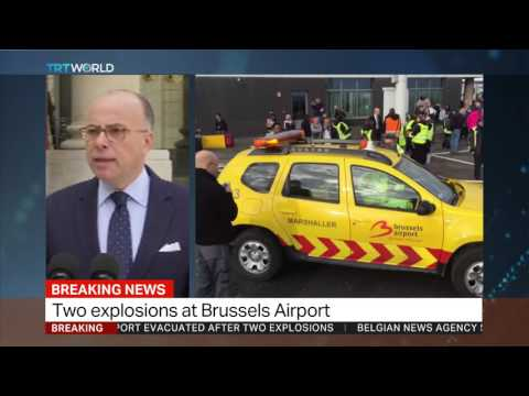 French Interior Minister Bernard Cazeneuve's press conference on Brussels explosions