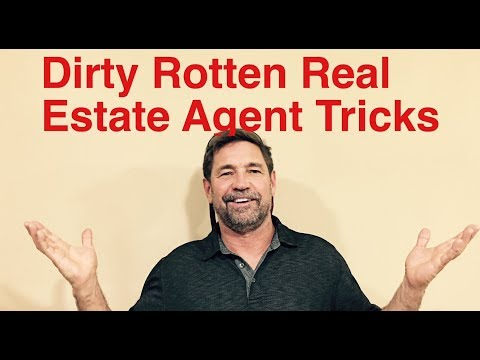 Dirty, rotten, lying real estate agent trying to play me and another buyer.