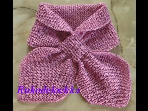 Вязаные  украшения- шарфы и  шали
