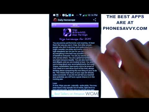 Daily Horoscope - Android App Review - Best Horoscope App Available