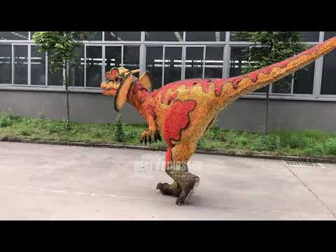 Halloween Dinosaur Party Shows Mechanical Suit Realistic ...