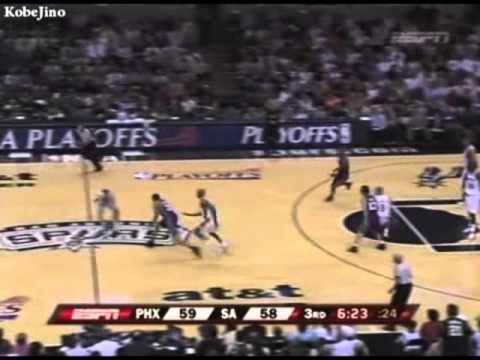 Spurs Highlight vs Suns 2007 Playoff 2R G6