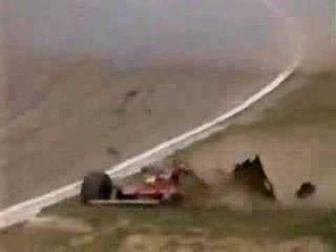 Gilles Villeneuve Crashes At Imola 1980 Youtube